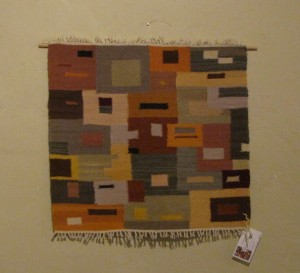 Wall hanging by Linda Bentley.