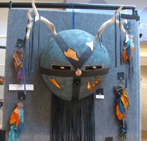 Gourd antler mask by Eye of the Beholder. Stunning!