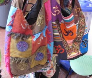Colorful bags by Subedi Enterprises.