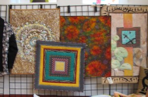 Quilt work by The Common Thread.