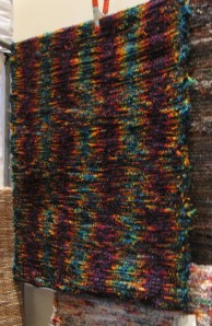 Another wool shag rug by Cabin Textiles.