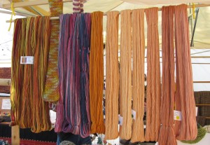 Skeins by various ATTL members.