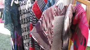 Woven and knitted clothing.