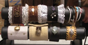 UpCycled Fashion bracelets