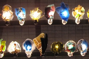 Glass nightlights by MCM Artworks