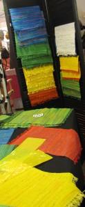 Woven plastic mats by Moe's EcoMats