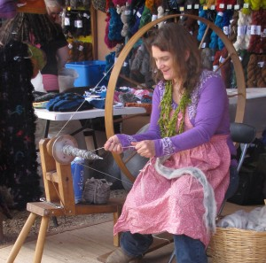 Spinning demo by Lisa Joyce.