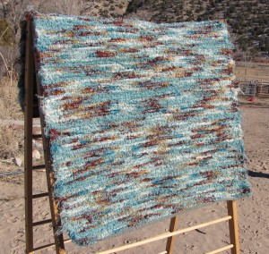 Wool shag, Seafoam