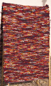 Wool shag, 32inx120in, Jerome's Wine & Cheese