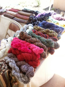 Skeins by Ann Lumaghi.