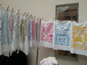 Hand towels by Kei & Molly Textiles.