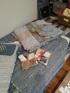 Blue jeans weavings by TDLT.