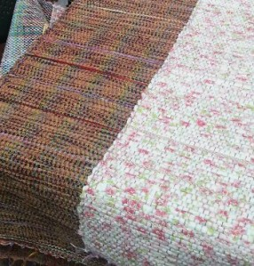 Weavings by Tanka Chapagai.