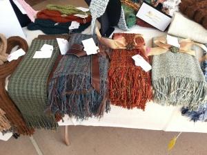 EVFAC woven shawls.