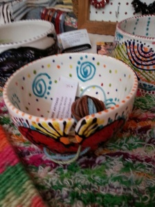 Keep your yarn balls in order with these bowls from TDLT.