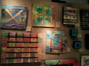Quilted wall art by Renee Brainard Gentz.